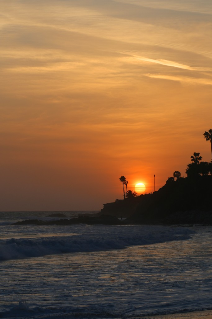 Sunset in Laguna Beach