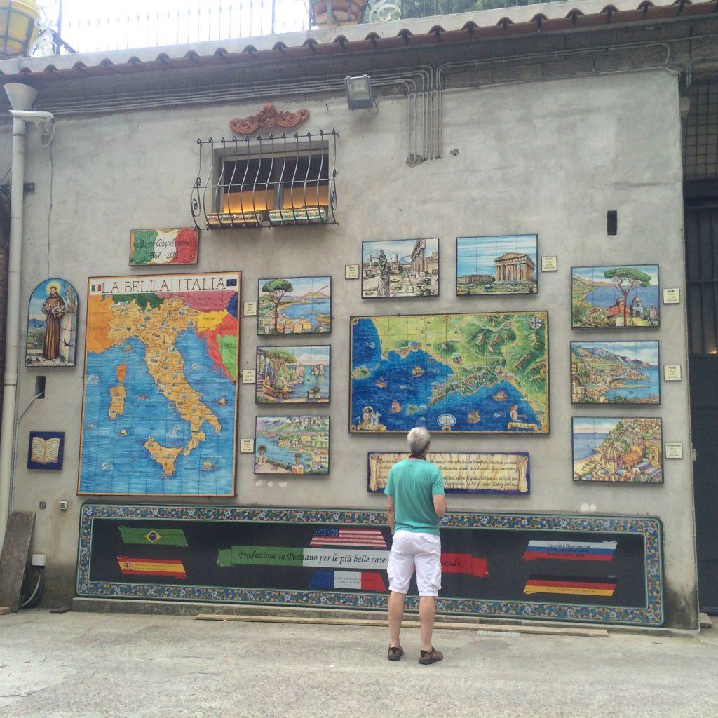 Ceramic store in Amalfi
