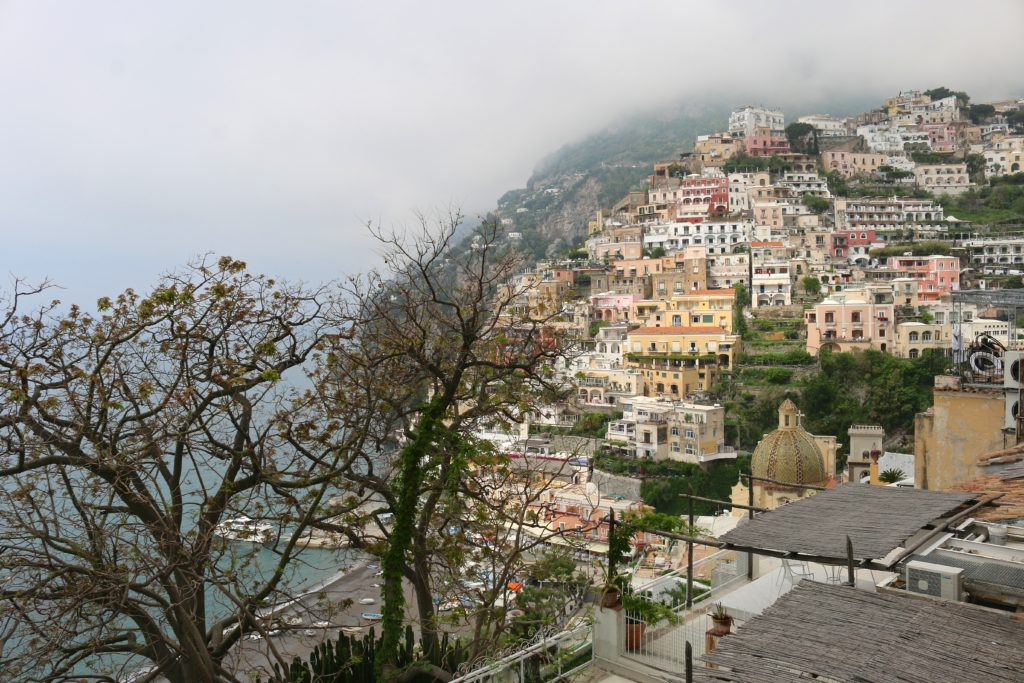 Another beautiful view of Positano