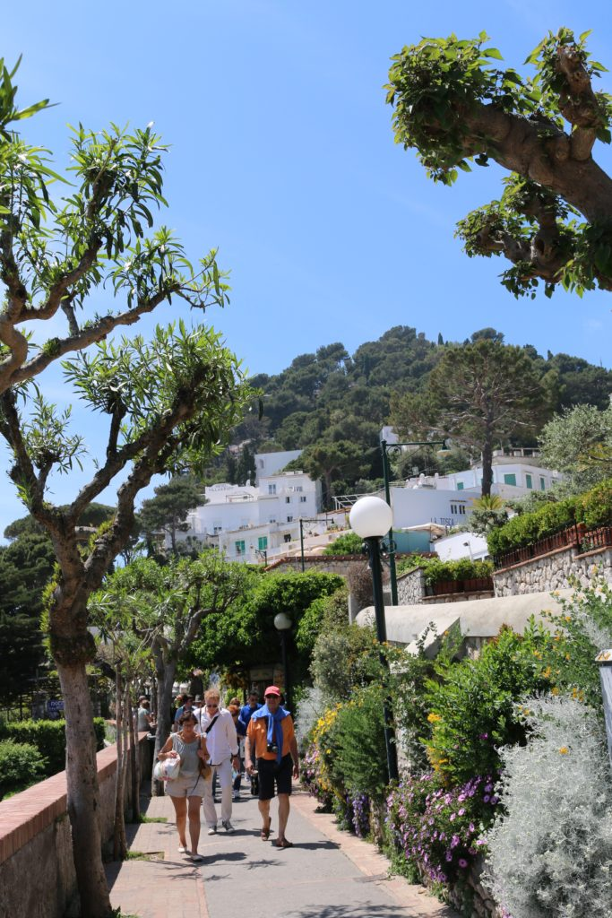 Our tour in Anacapri