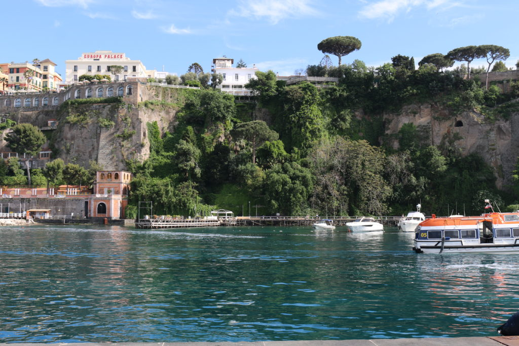 View of Sorrento form the port