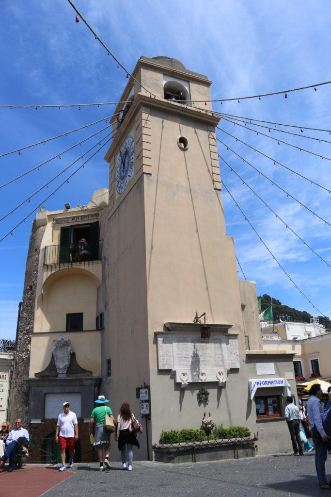 the piazzetta in Capri