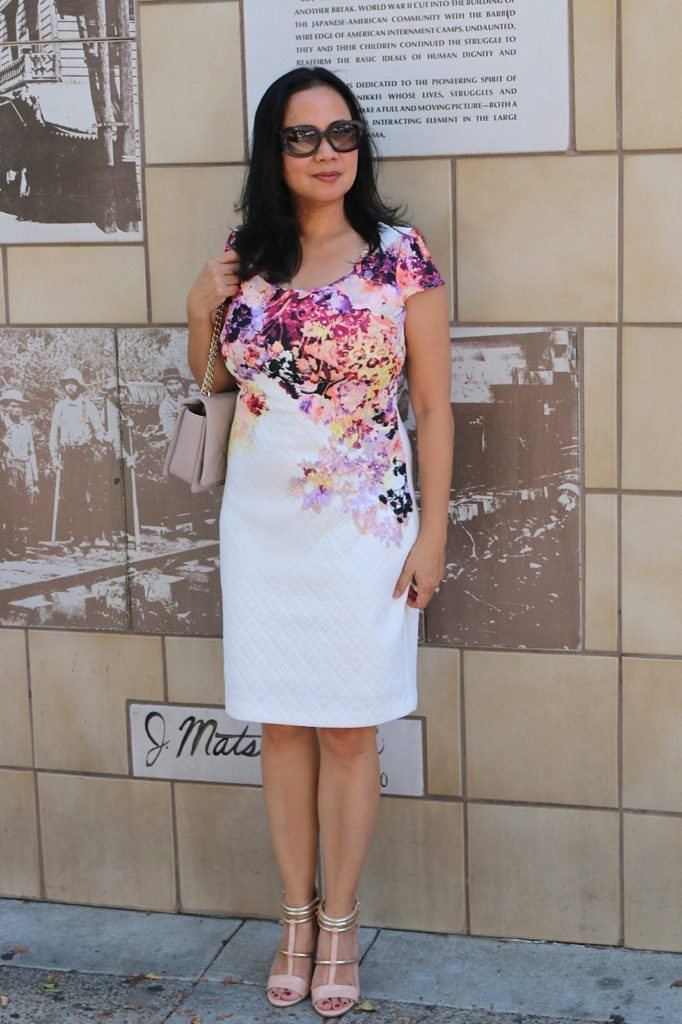 Summer Floral Sheath Dress