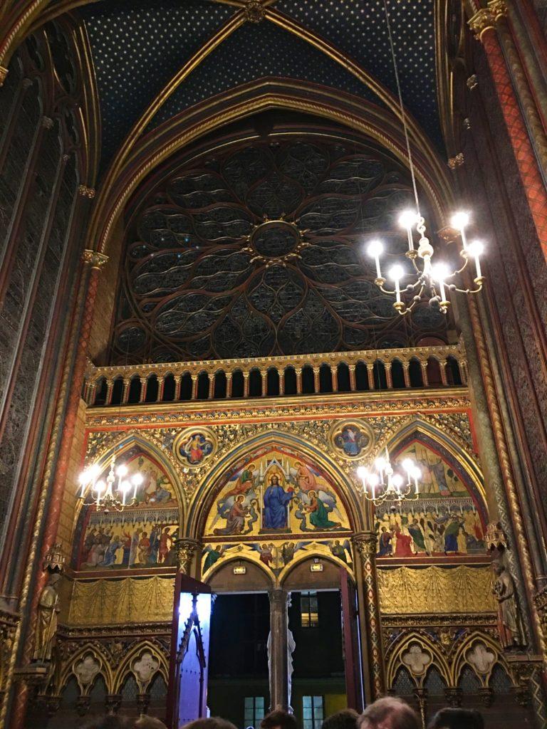 Image inside Sainte-Chappelle