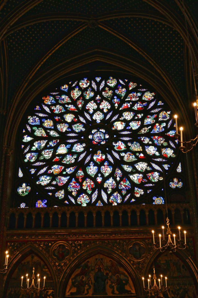 Rose Window in Sainte-Chapelle