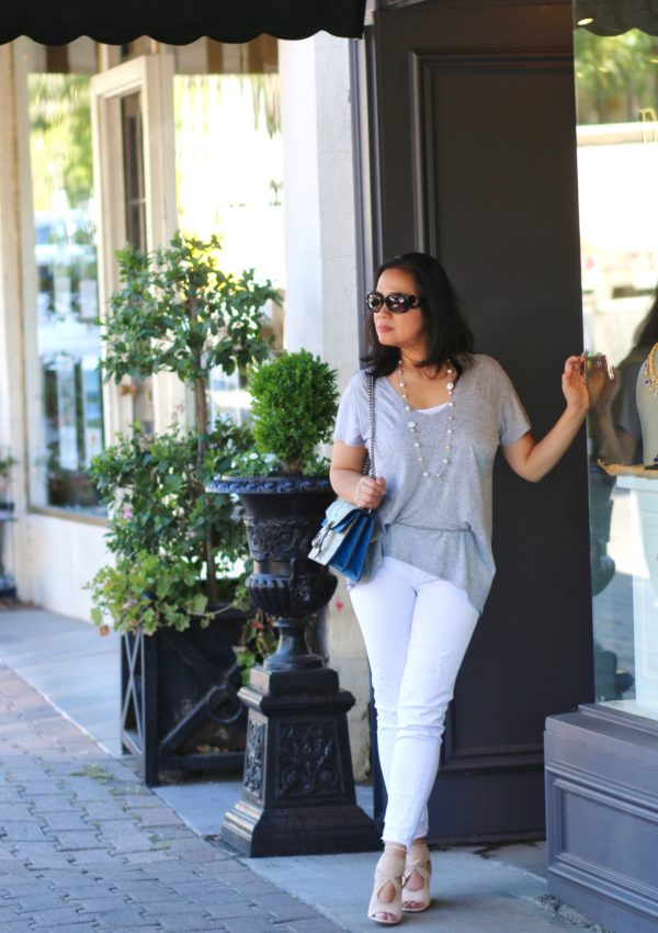 How to Style a Neutral Summer Outfit