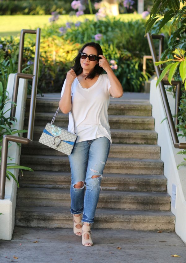 The Basic and Simple White Tee