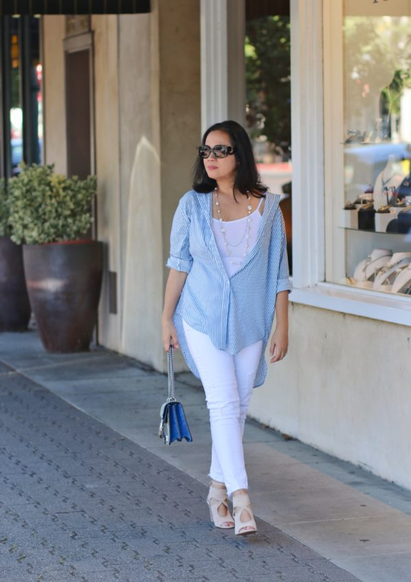 How to Boost a Simple Summer Outfit