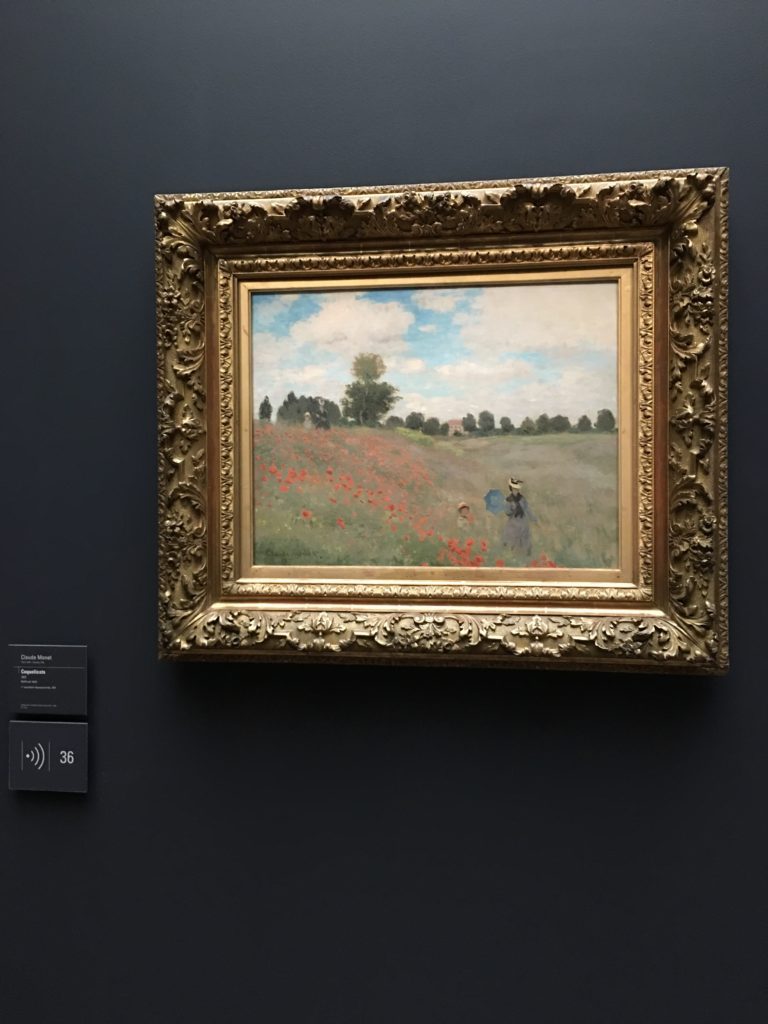 Coquelicots painting Monet