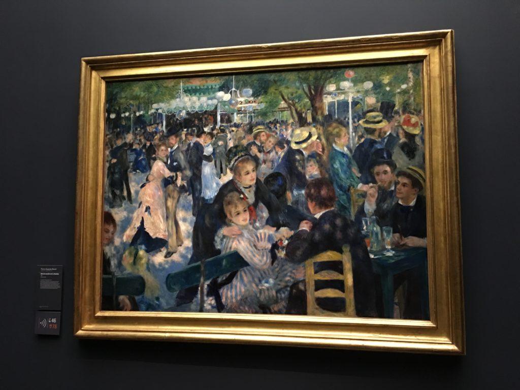 Pierre-Auguste Renoir's Bal du Moulin de la Galette